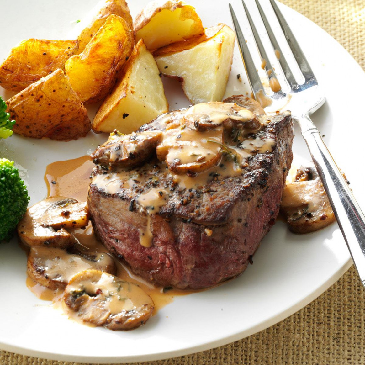 Tenderloin Steak Diane Recipe | Taste of Home