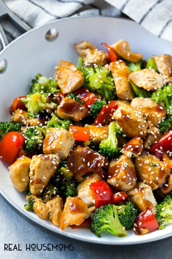 Teriyaki Chicken and Vegetables with Video ⋆ Real Housemoms