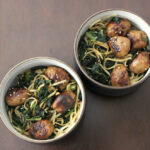 Teriyaki meatballs with udon noodles_5