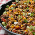 Tex Mex Beef Skillet | I Heart Recipes