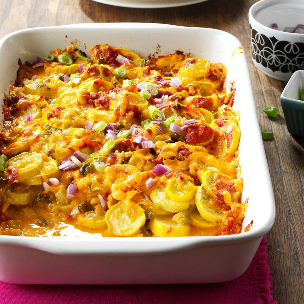 Tex-Mex Summer Squash Casserole Recipe | Taste of Home