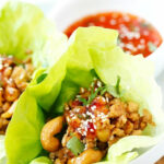Thai Chicken Lettuce Wraps | Easy Delicious Recipes