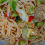 Thai Chili Tempeh And Noodles