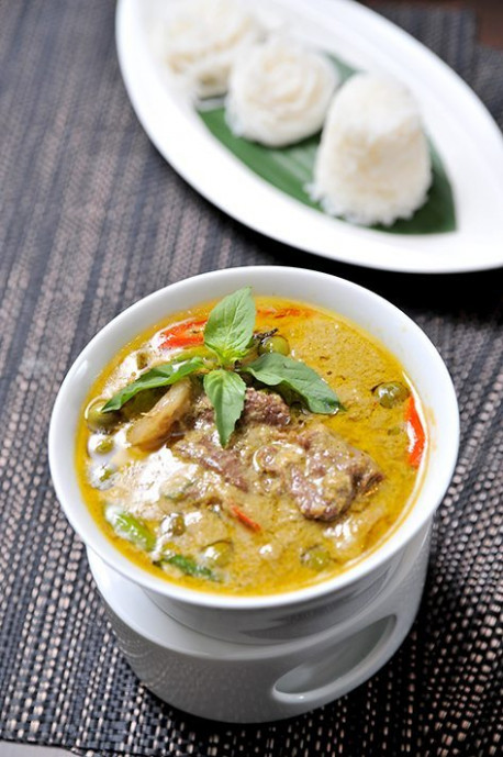 Thai Green Beef Curry With Basmati Rice Recipe | Healthy …