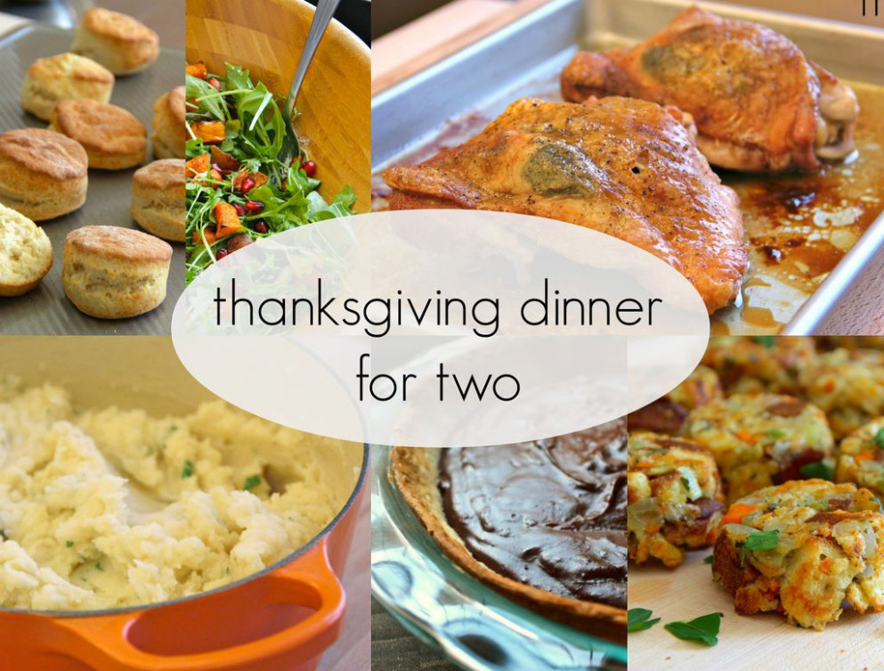 Thanksgiving Dinner for Two | Main Dish Recipes ...