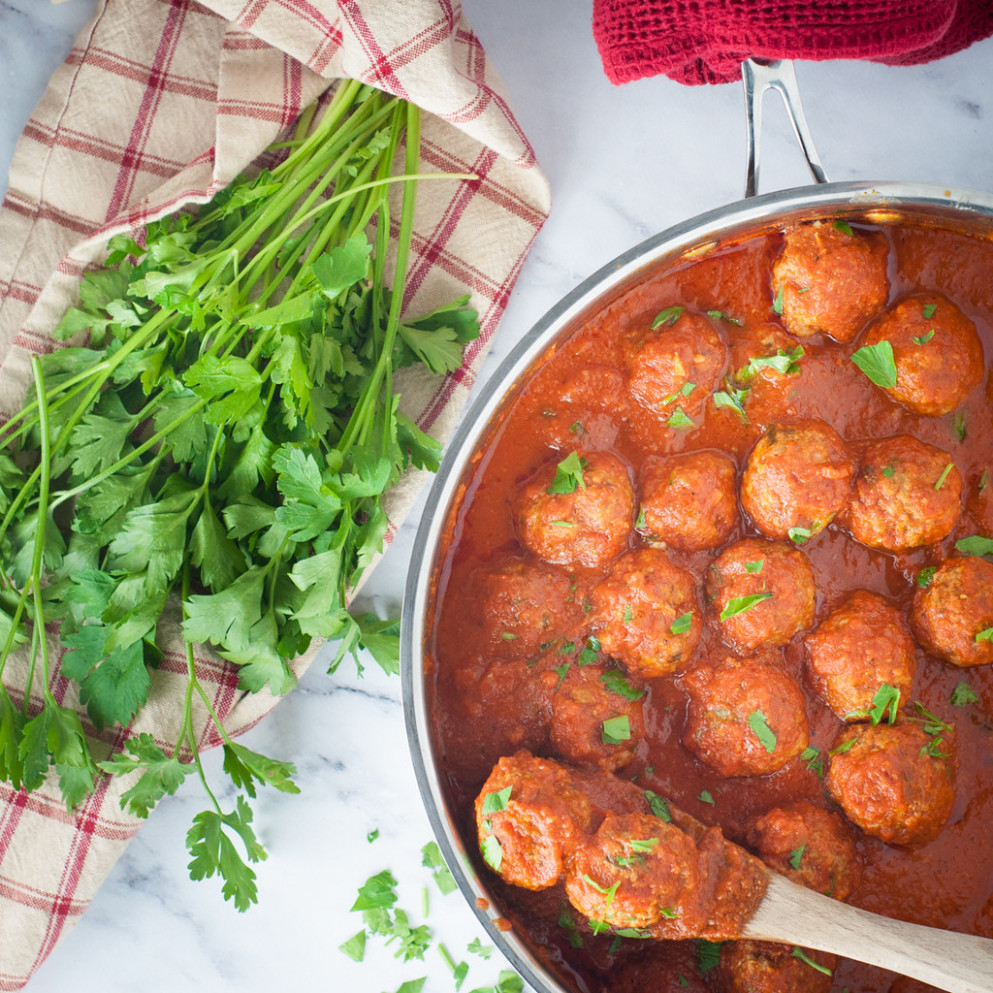 That's Amore! Easy And Delicious Three Meat Meatballs