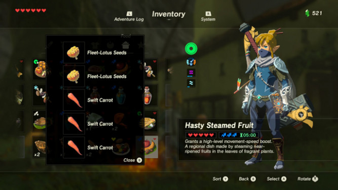 The 10 Best Recipes in Zelda: Breath of the Wild :: Games ...