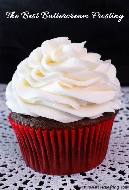 The Best Buttercream Frosting | Recipe | Pinterest ...