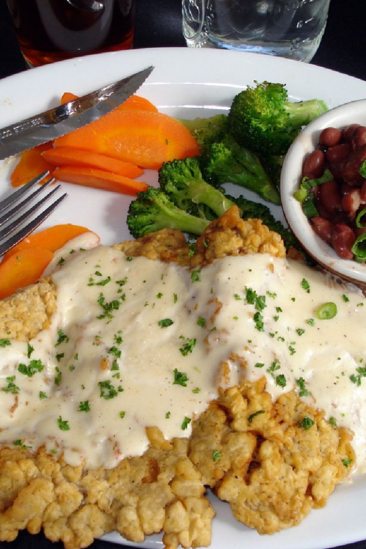 The Best Chicken Fried Steak Dinner Recipe | Beef/Turkey ...