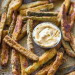 The Best Crispy Baked Zucchini Fries | Gimme Delicious