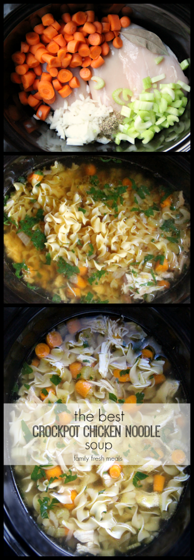 The Best Crockpot Chicken Noodle Soup | Recipe | Chicken ...