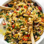 The Best Easy Italian Pasta Salad Recipe – Pinch Of Yum