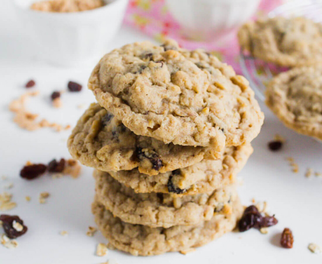 The Best Ever Oatmeal Raisin Cookies