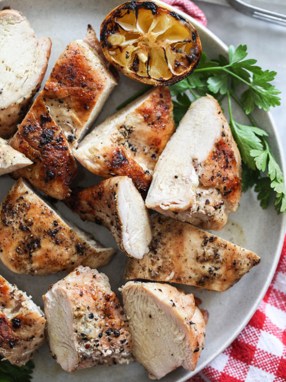The Best Grilled Chicken Breast Recipe   Foodiecrush