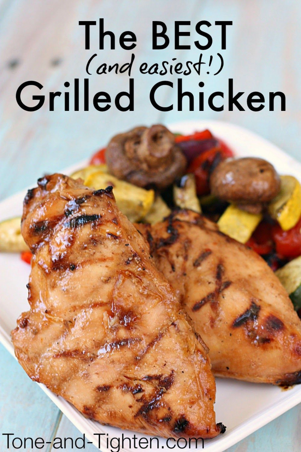 The Best Grilled Chicken Recipe (only 4 ingredients ...