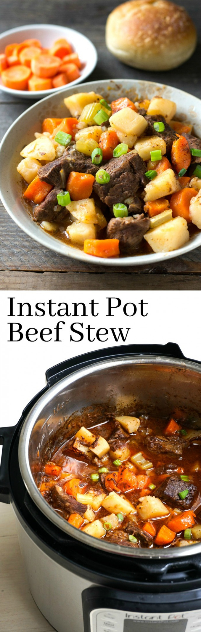 The Best Instant Pot Beef Stew Recipe - Easy Family Dinner