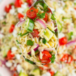The BEST Orzo Pasta Salad – Your Cup Of Cake