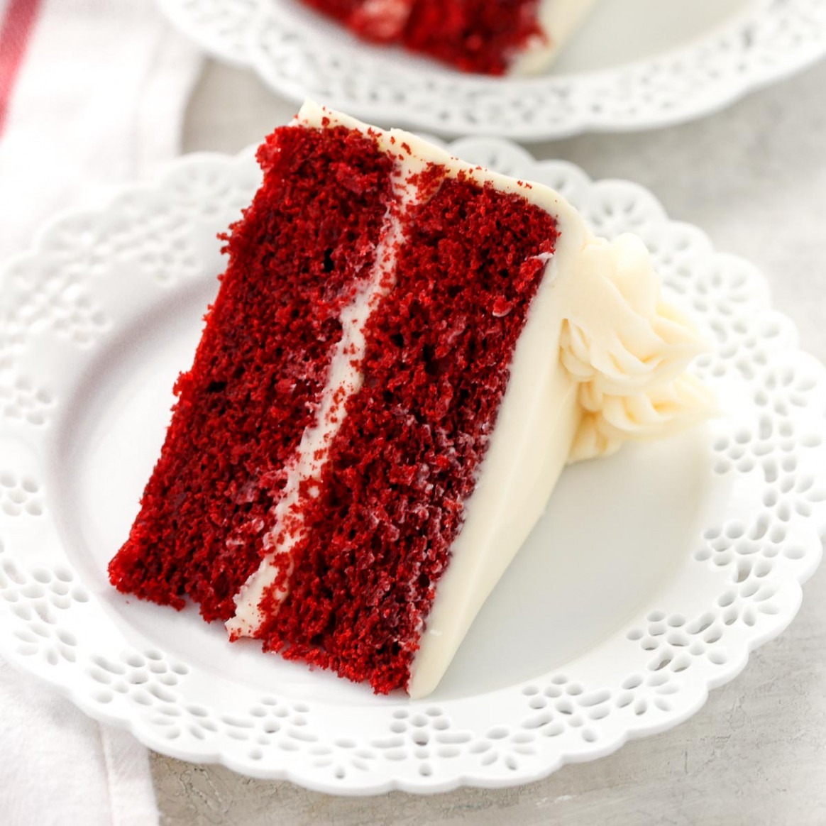 The BEST Red Velvet Cake - Live Well Bake Often