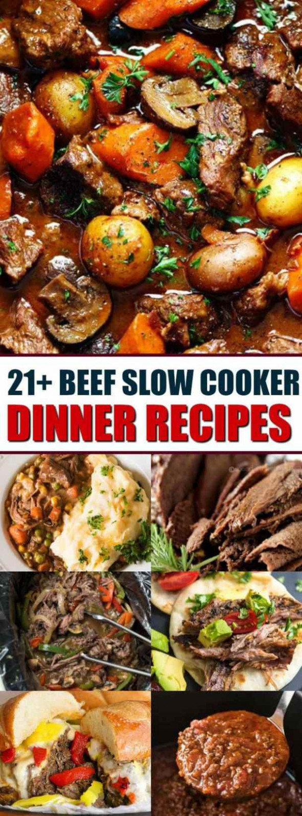 The Best Slow Cooker Beef Dinner Recipes - The Best Blog ...