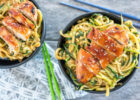 The Best Teriyaki Chicken Zoodle Bowls   Almost Supermom