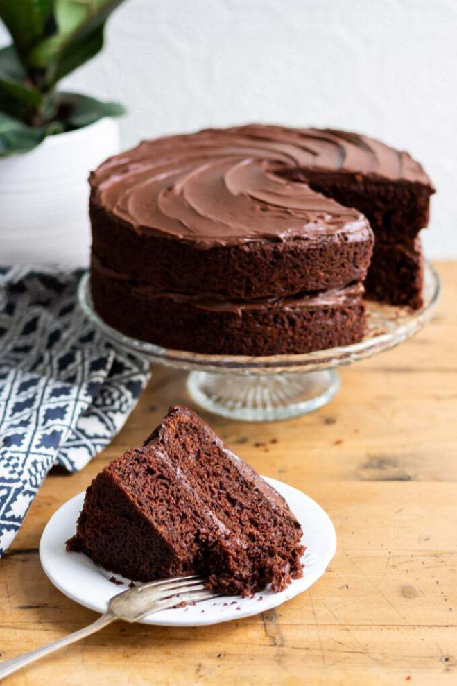 The Best Vegan Chocolate Cake « Veggie Desserts