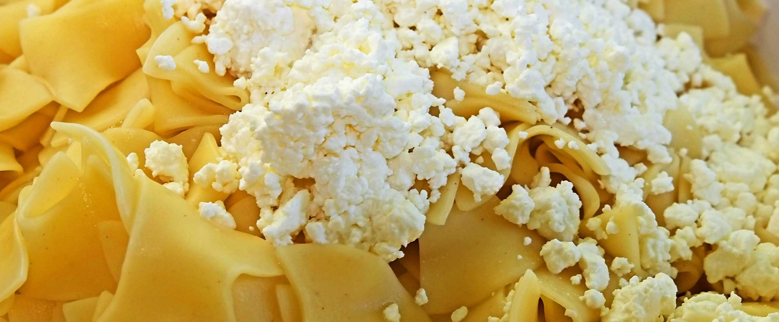The Jewish Version of Macaroni and Cheese: Egg Noodles with ...