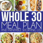The Perfect Whole 30 Meal Plan For Week 1! Tons Of Great …