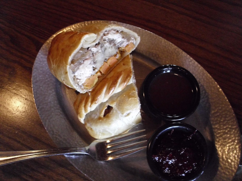 The Pilgrim Pasty, Lunch at Cornish Pasty Co Restaurant, Scottsdale, Arizona