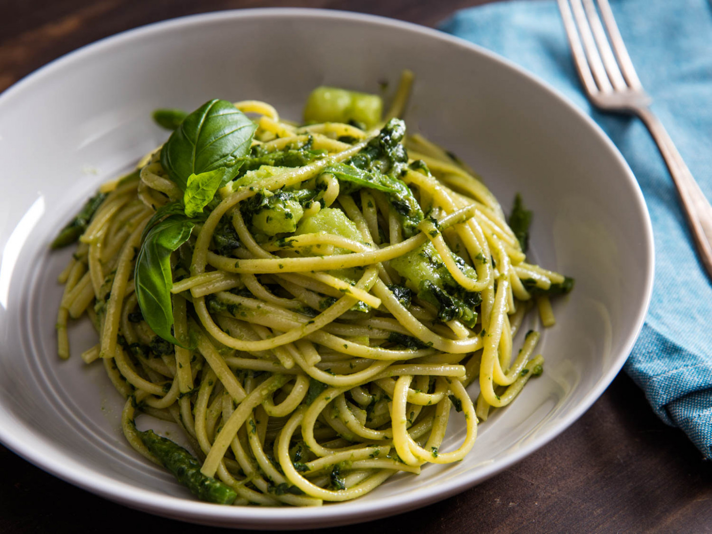 The Right Way(s) To Serve Pesto On Pasta | Serious Eats