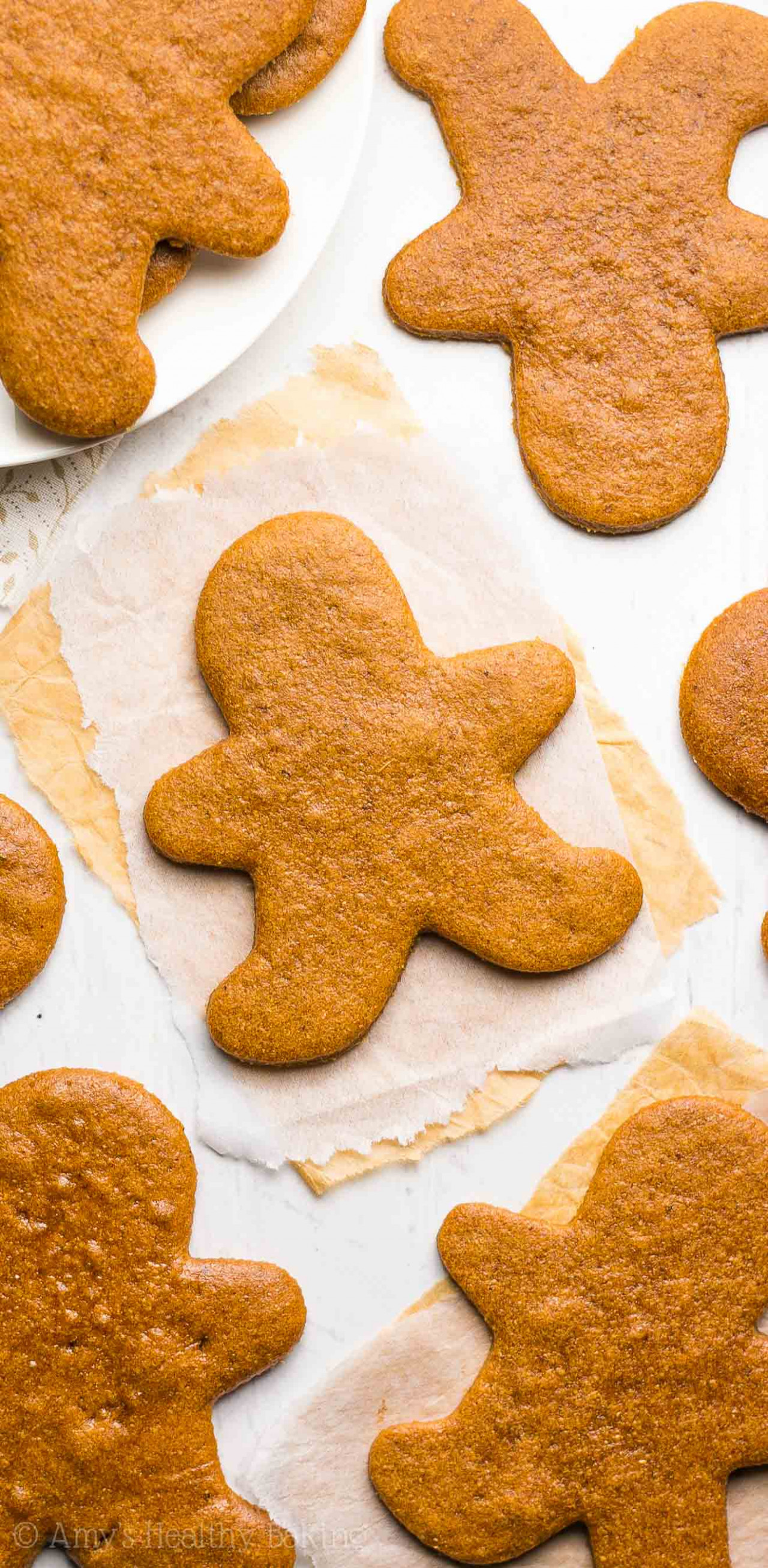 The Ultimate Healthy Gingerbread Cookies