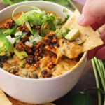 The Ultimate Vegan Party Food: Fully Loaded Queso Dip …