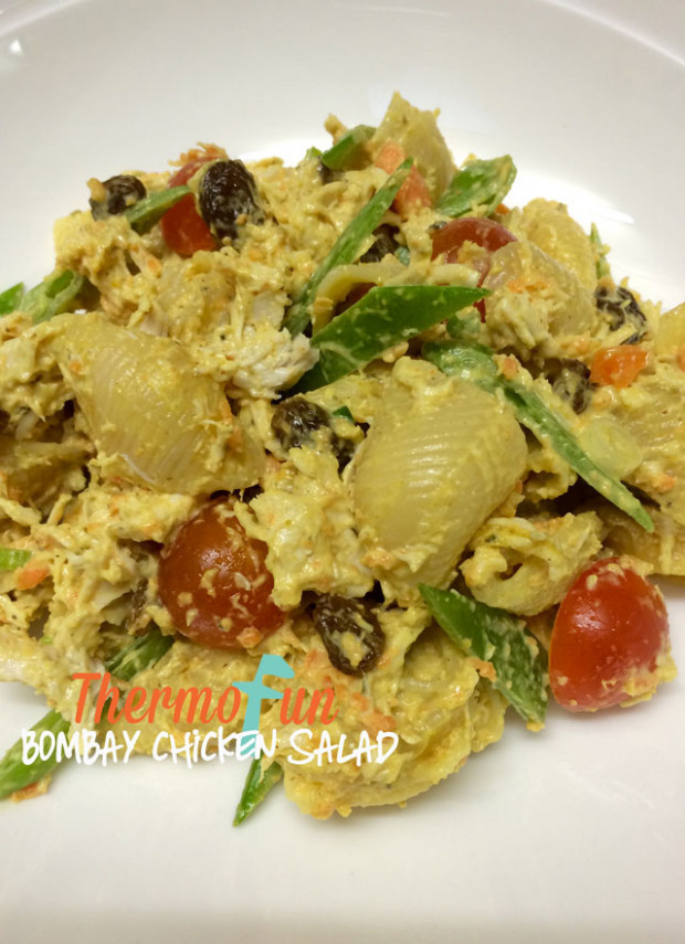 Thermomix Chicken Bombay Salad - ThermoFun | Thermomix ...