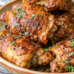 These Oven Baked Chicken Thighs Are A Delicious Chicken …