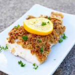 This Delicious Clean Eating Walnut Crusted Cod Is Filled …