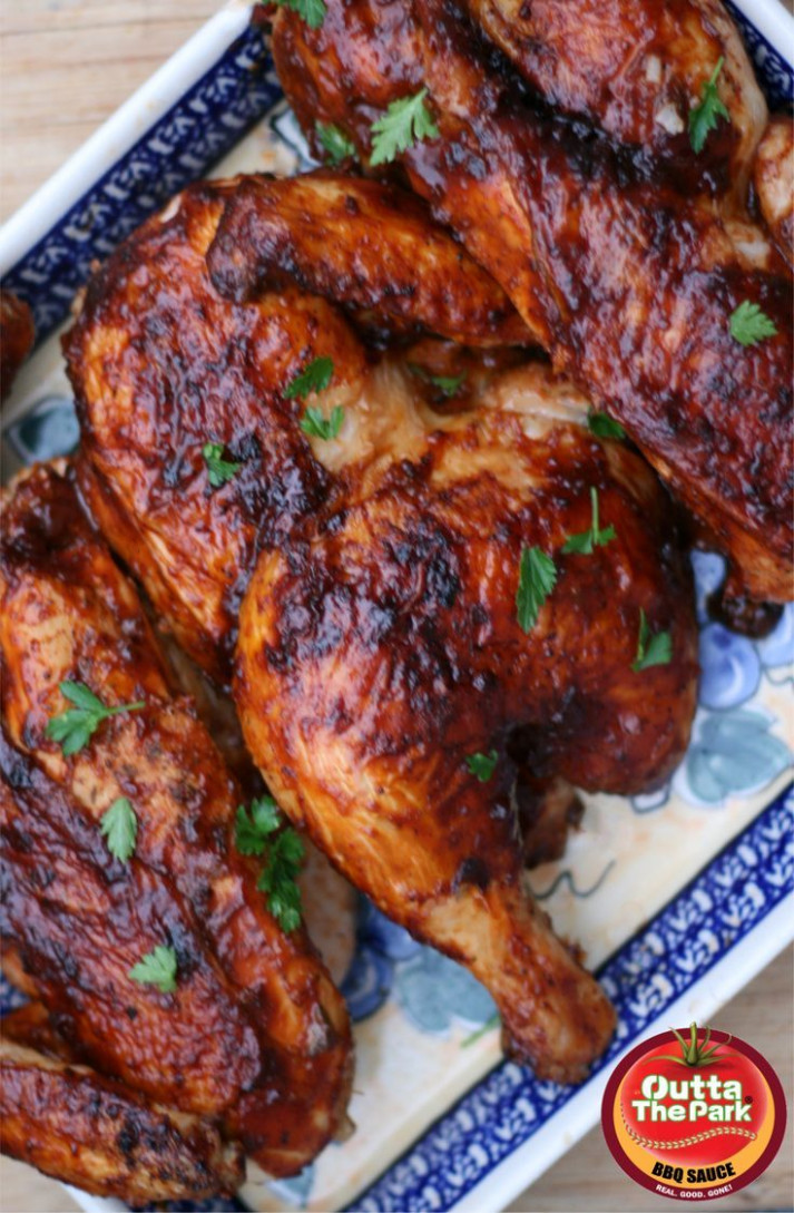 This Recipe For Oven Baked BBQ Chicken Works Beautifully …