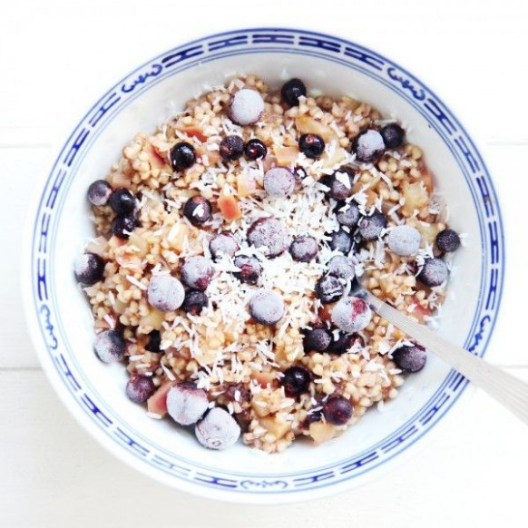 Toasted buckwheat porridge | Hearty Breakfast in 2019 ...