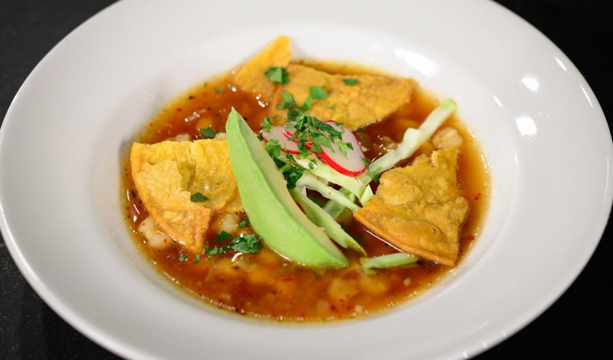 Toasted Tortilla Soup with Queso Fresco, Chicken and ...