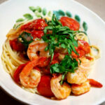 Tomato Basil Shrimp Bowl 5