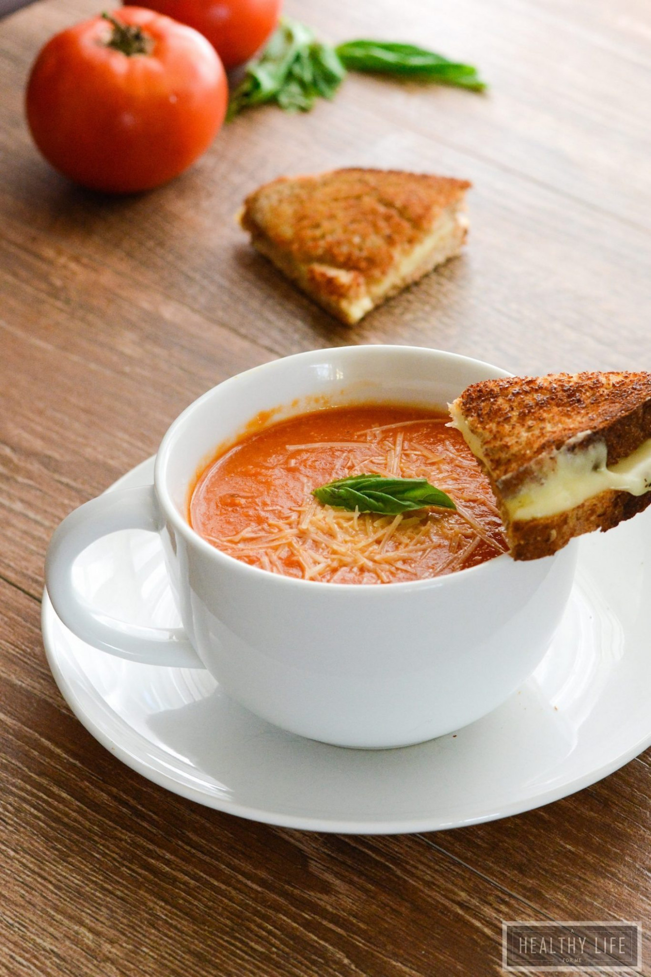 Tomato Bisque - A Healthy Life For Me