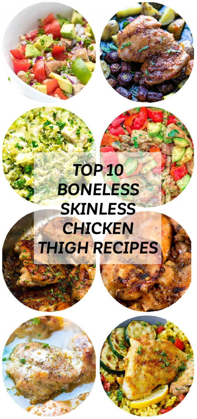 Top 10 Boneless Skinless Chicken Thigh Recipes - Cooking LSL