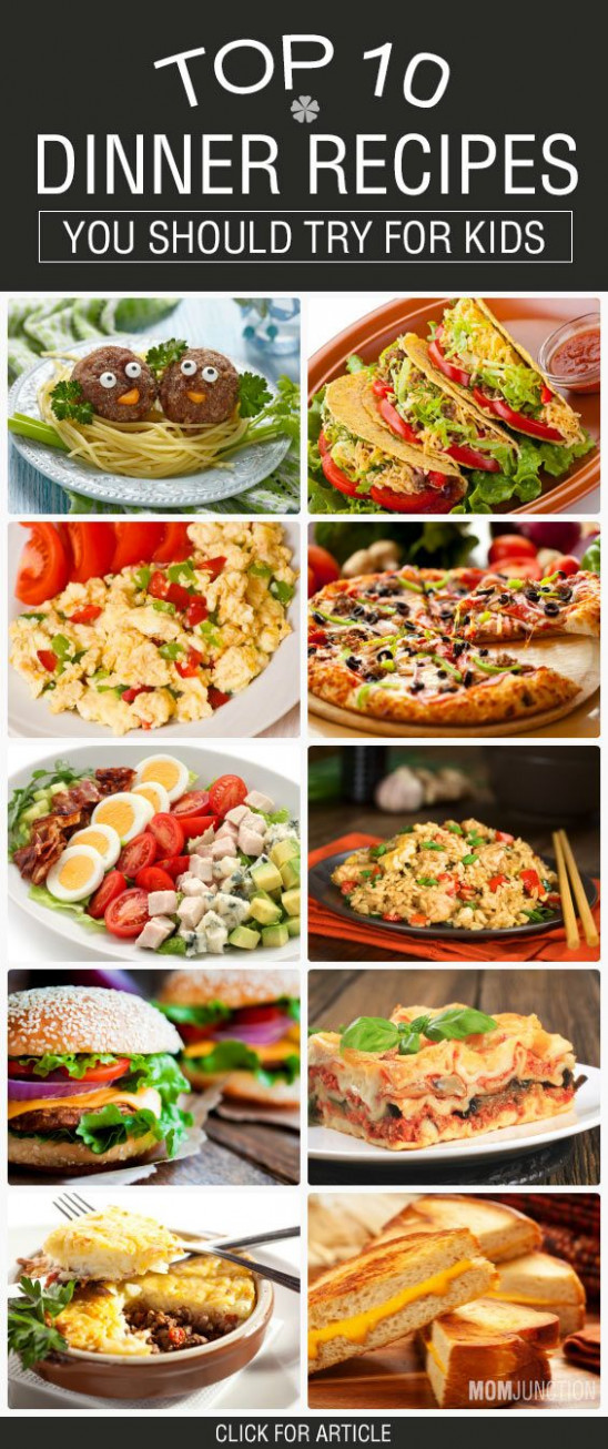 Top 21 Easy Dinner Recipes For Kids To Try Out Today | Kid ...