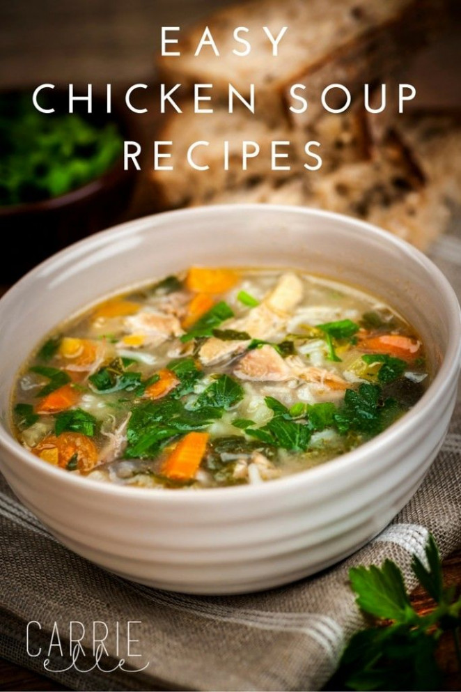 Top Comforting Soups | Soup recipes, Chicken soups and ...