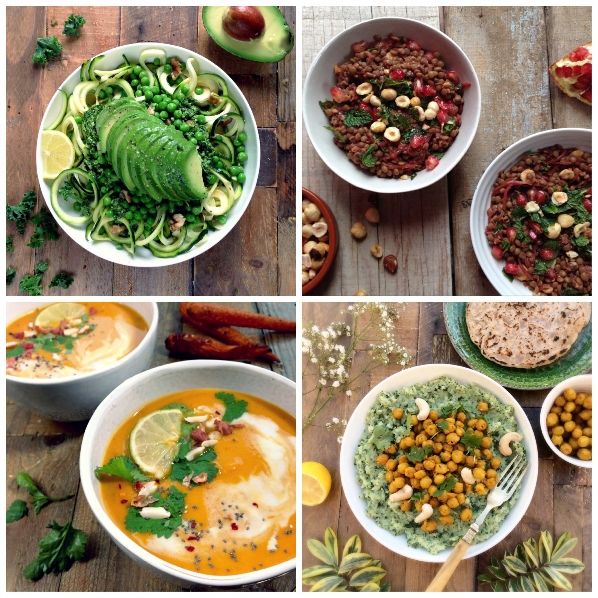 Top Ten Healthy and Light Vegan Dinners - Rebel Recipes