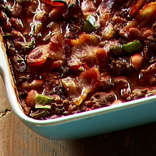 Trisha Yearwood's Baked Bean Casserole
