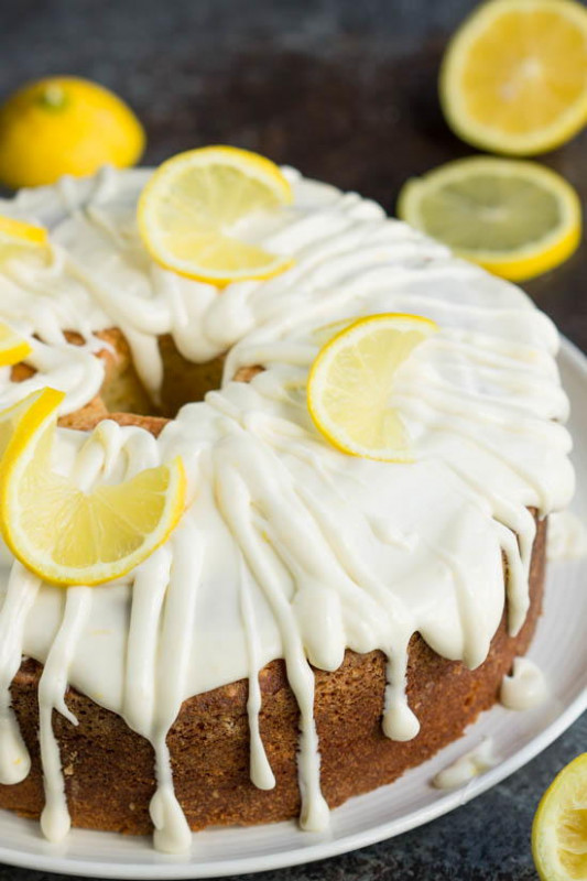 Trisha Yearwood-Inspired Lemon Pound Cake ...