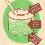 """Try Cooking Cabbage This Way"" – WW2 UK Ministry Of Food Leaflet, 1944"
