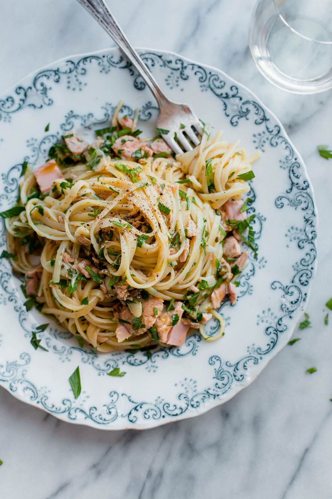 Tuna Pasta with Capers and Parsley | Recipe | Food in My ...