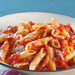 Tuna Tomato Pasta Recipe & Video | Martha Stewart