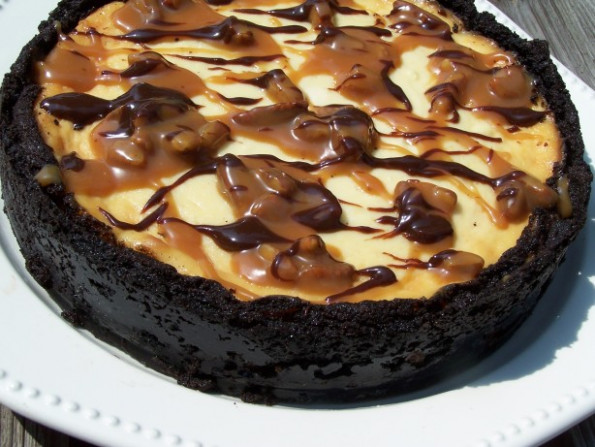 Ultimate Turtle Cheesecake Recipe - Food