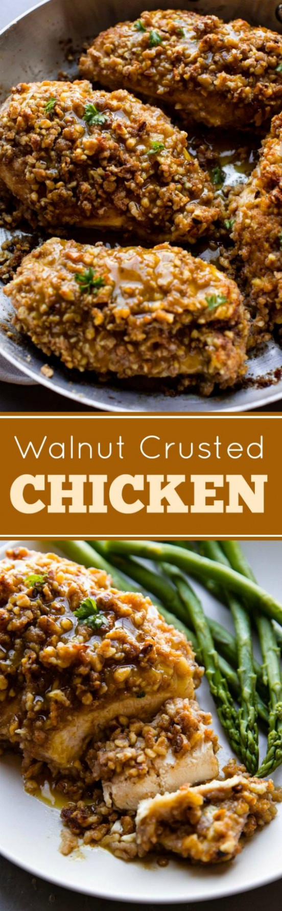 Unbelievable Walnut Crusted Chicken | Sally's Baking Addiction